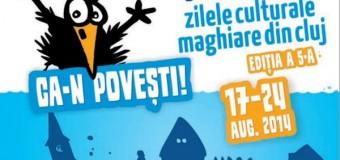 Programul Zilelor Culturale Maghiare de marţi 19 august 2014
