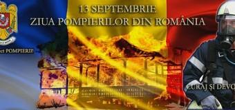 Ziua  pompierilor din România, sărbătorită la Cluj.