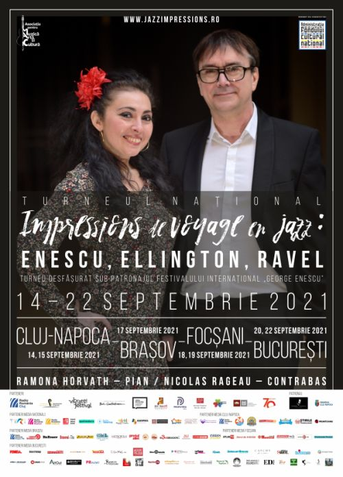 Cluj24h, Turneu național, Impressions de voyage en jazz, Enescu, Ellington, Ravel,