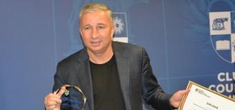 Dan Petrescu, Cetățean de Onoare al Județului Cluj.