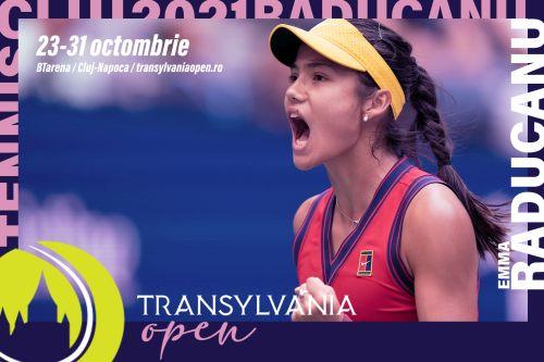 Emma Raducanu, Transylvania Open, Cluj24h, tenis