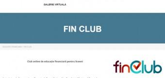 FinClub -club online de educație financiară pentru liceeni.
