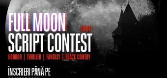 TIFF lansează concursul Full Moon Script Contest.