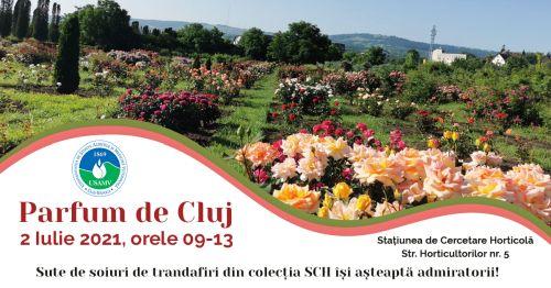 Parfum de Cluj trandafiri USAMV Cluj24h