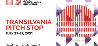 Transilvania Pitch Stop: start înscrieri pentru ediția 2021.