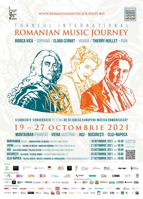 Romanian Music Journey, cluj24h, știri cluj, turneu internațional