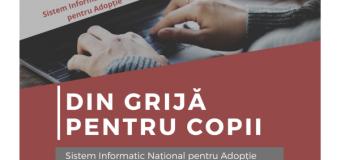 SINA – Primul Sistem Informatic pentru Adopție.