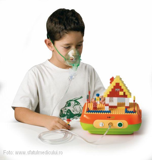 tratamentul cu aerosoli, Cluj24h, aerosoli la copii