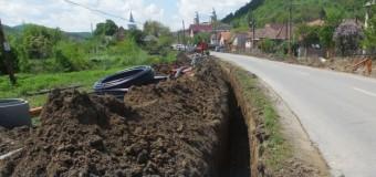 Localitatea Cojocna va beneficia de o rețea de apă modernizată.