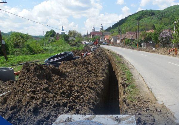 Jucu de Sus, alimentare cu apă gârbău, Localitatea Cojocna