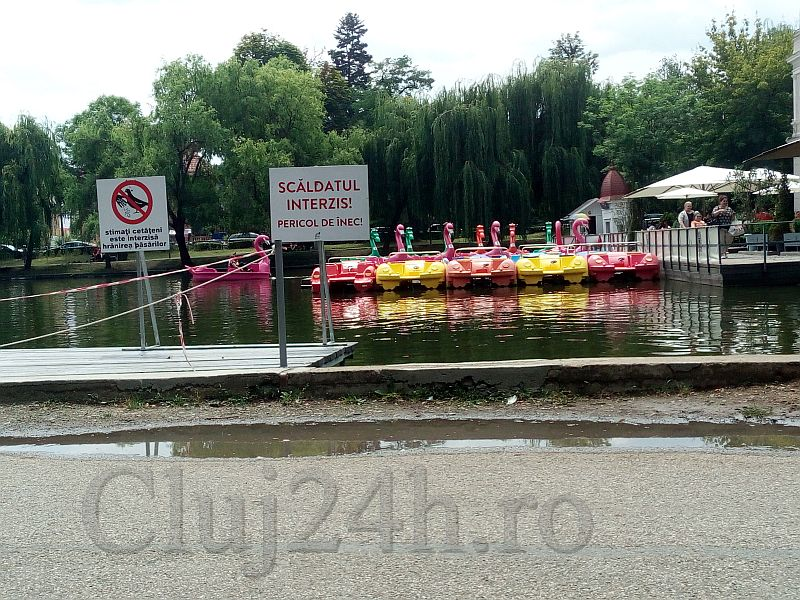 plimbări pe lac Cluj 24h
