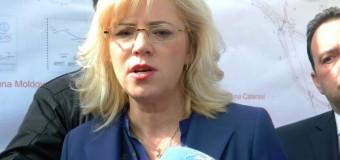 """Corina Crețu: """"Resurse financiare disponibile pentru finalizarea a 19 proiecte de infrastructură din România"""""""