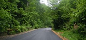 Au fost finalizate lucrările de asfaltare pe drumul judeţean DJ 107R Băişoara – staţiunea Muntele Băişorii