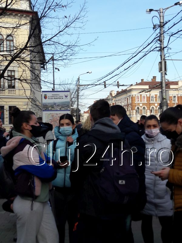 proteste masuri guvern cluj 2
