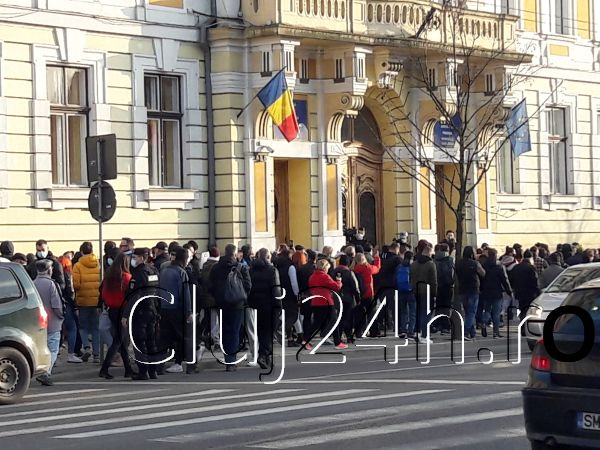 proteste masuri guvern cluj