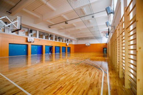 stadiul lucrărilor sală de sport